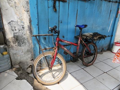 Sepeda butuh sandaran